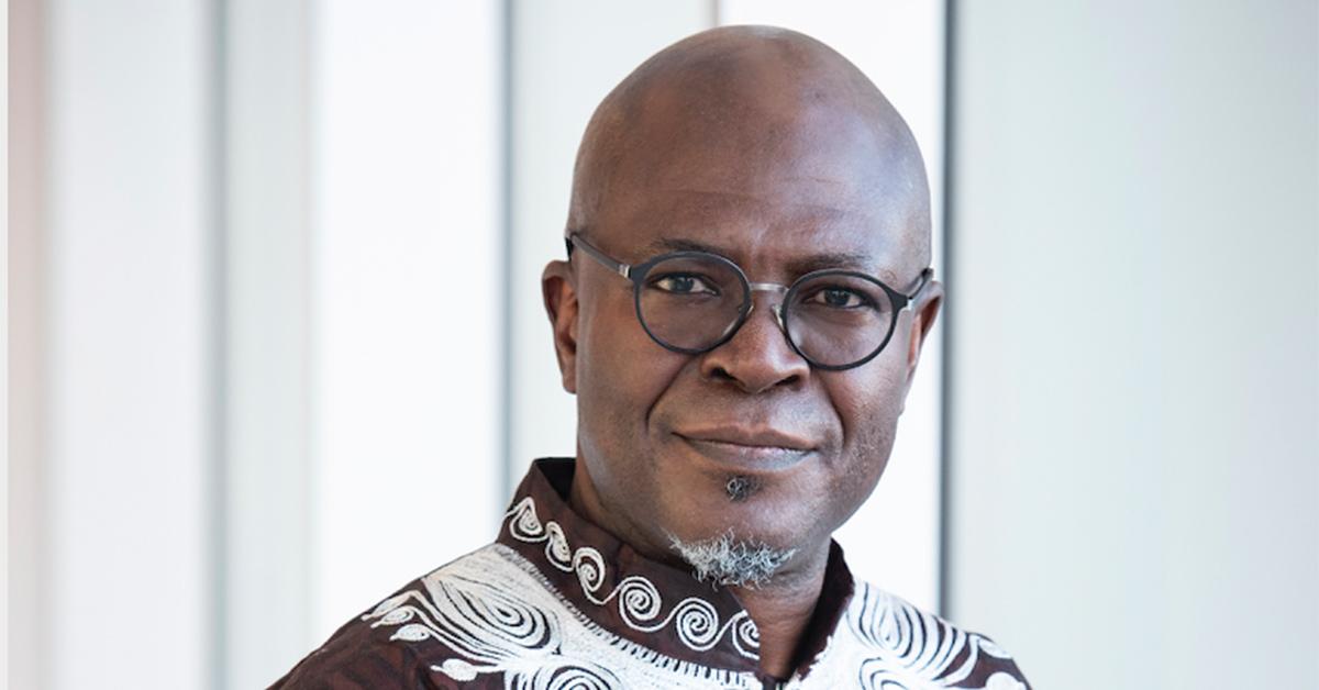 Portrait of Professor Boulou Ebanda de B'béri