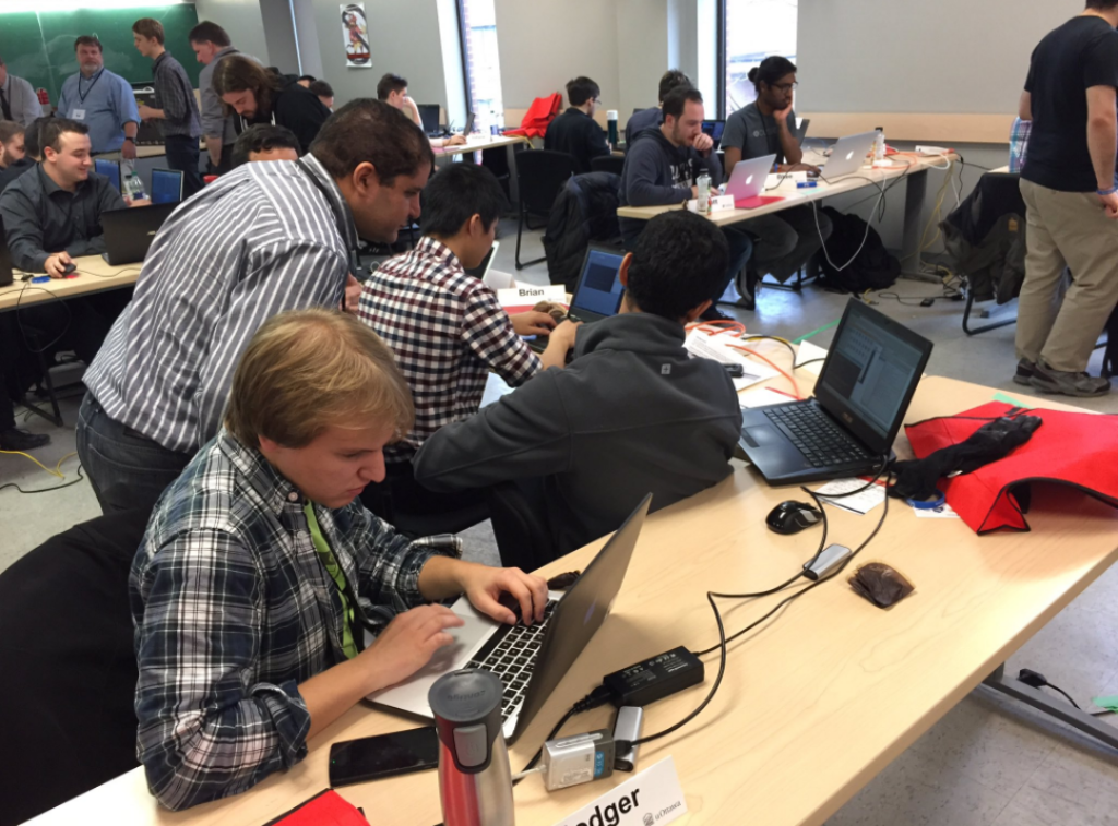 Participants au Cyber Security Challenge Ottawa