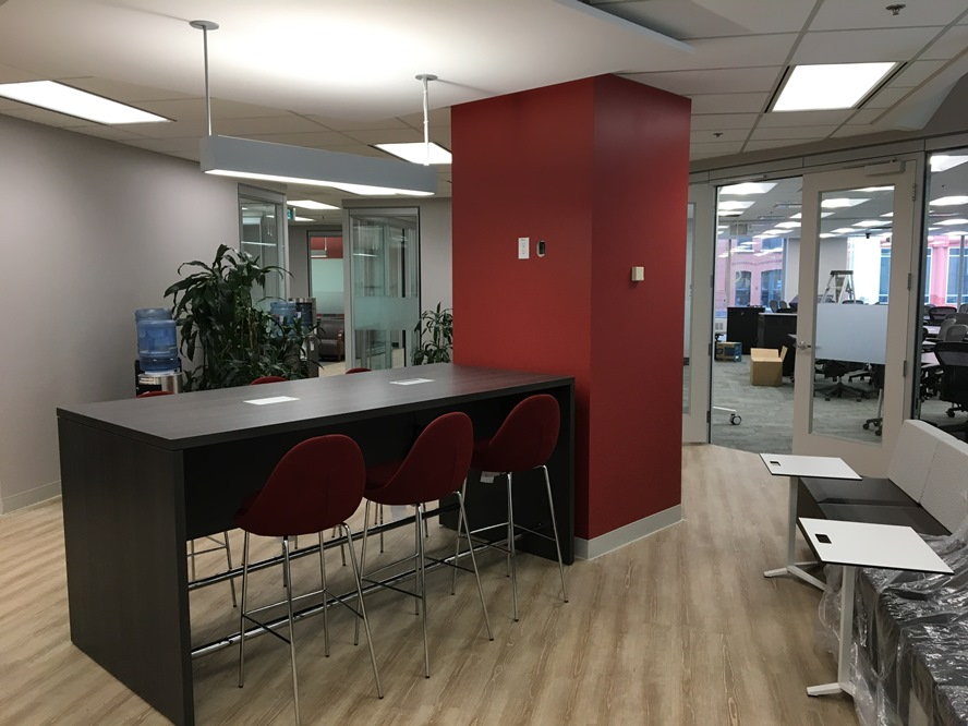 The Reception Area Of Centre For Executive Leadership At 99 Bank Street