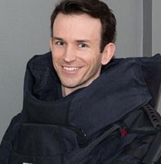 Marc Evans, smiling