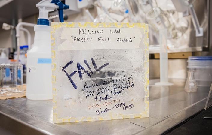 The lab's Biggest Fail Award