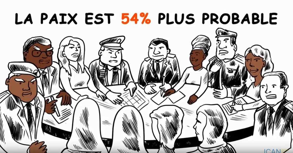 « La paix est 54 % plus probable ».