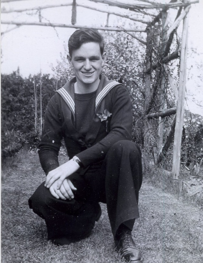 Black and white photo of William Gunter in the 1940's