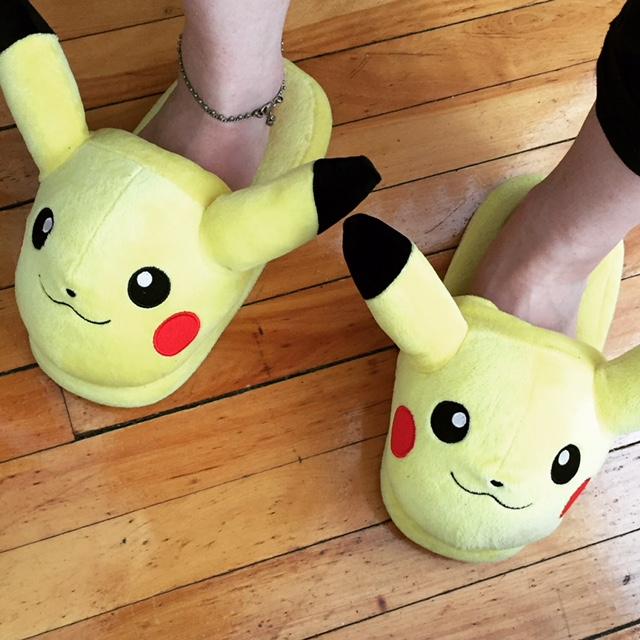 Des chausettes Pikachu