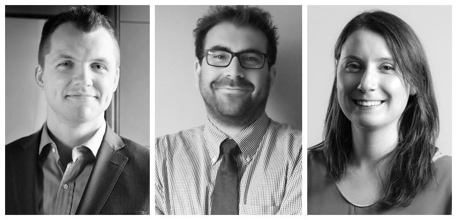 The three uOttawa Polanyi prize winners