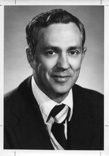 Black and white photo of Charles N. Armstrong