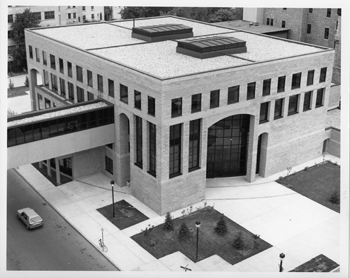 Top view of Perez Building