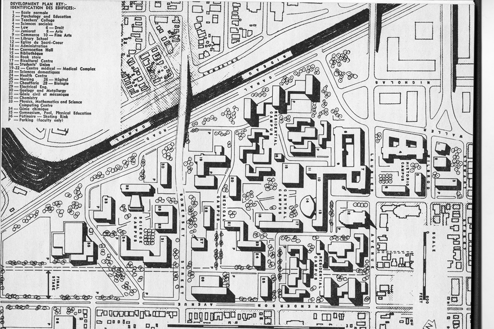 Master plan created in 1965.