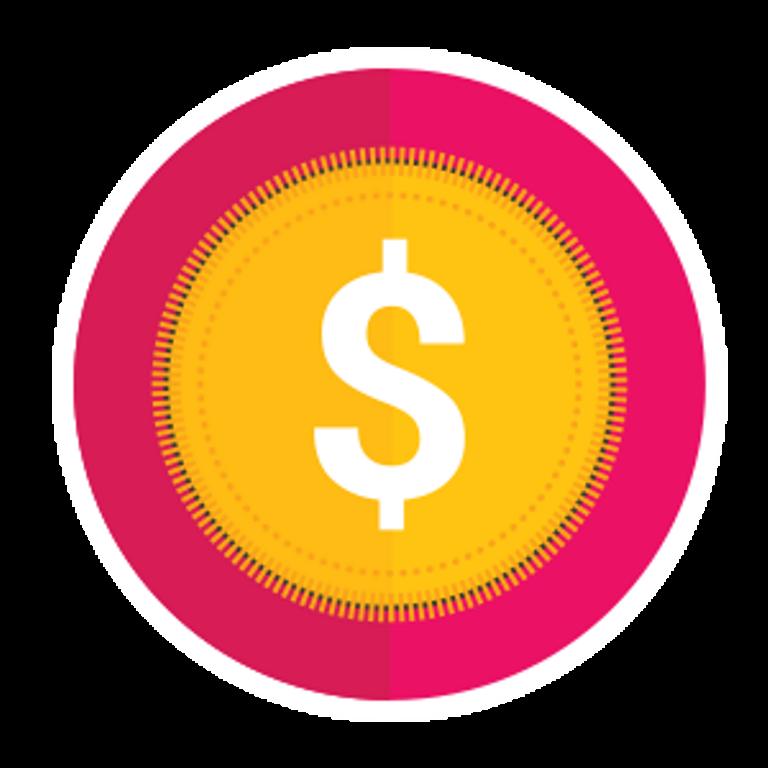 Illustration d'un symbole de dollar
