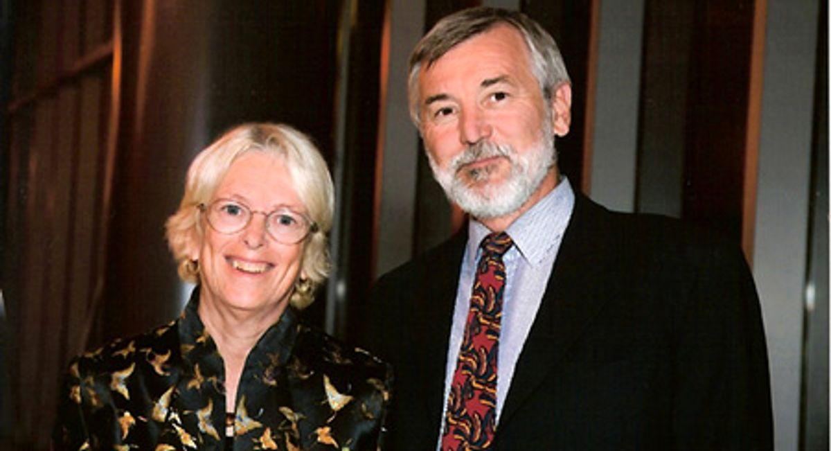 Les professeurs Pamela Samuelson et Robert Glushko.