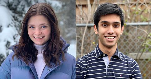 Madelin Rioux et Affaan Ali