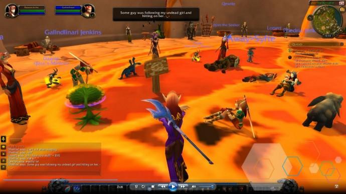 Capture d'écran d'un jeu vidéo