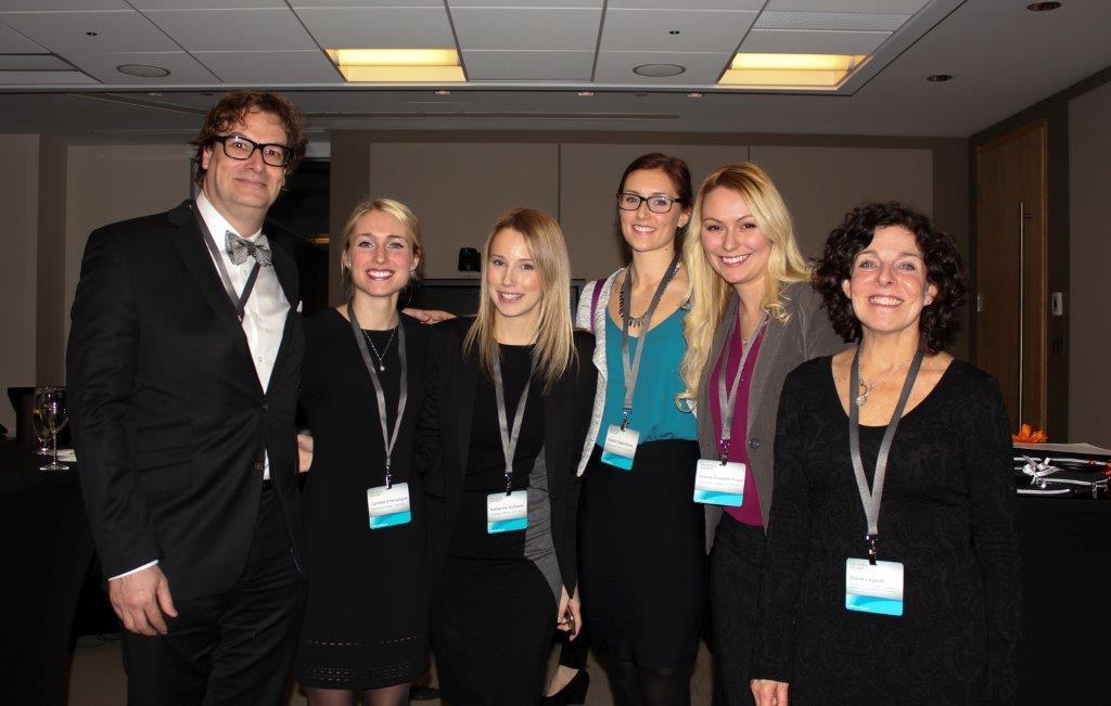 Jean Campeau; the four-student team comprising Katherine Burbacki, Cynthia Champagne, Valérie Deschênes and Audrey-Élizabeth Picard; and Diane Legault