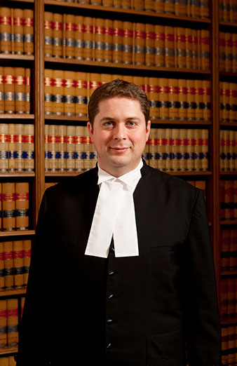 Speaker of the House of Commons, the Honourable Andrew Scheer.