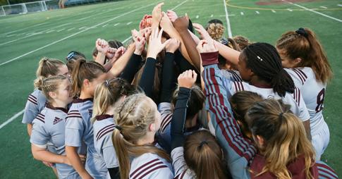 Caucus d'encouragement de l'équipe féminine de rugby