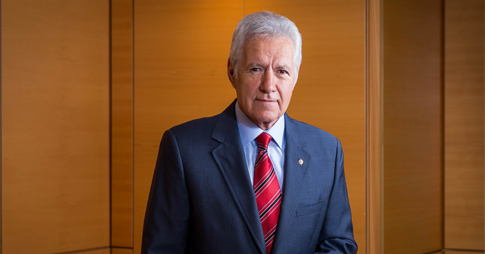 portrait d'Alex Trebek