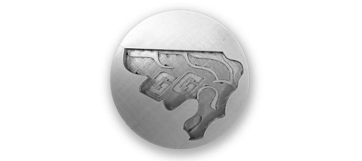 Logo Gee-Gees réalisé à l'imprimante 3D