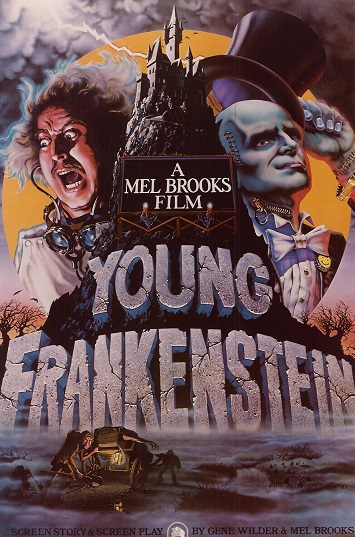 Poster of the film Young Frankenstein