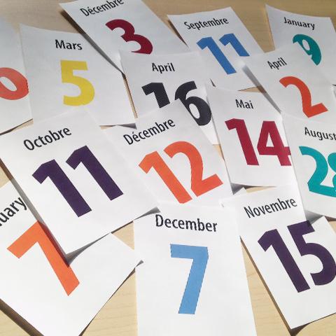 Dates importantes et échéances scolaires vignettes