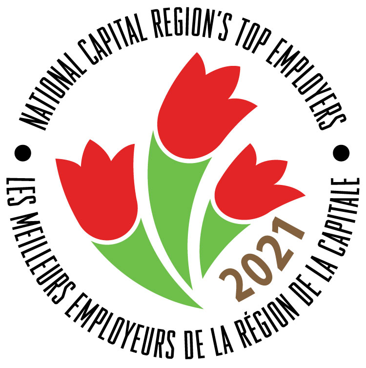 Logo of the 2021 National Capital Region's Top Employers