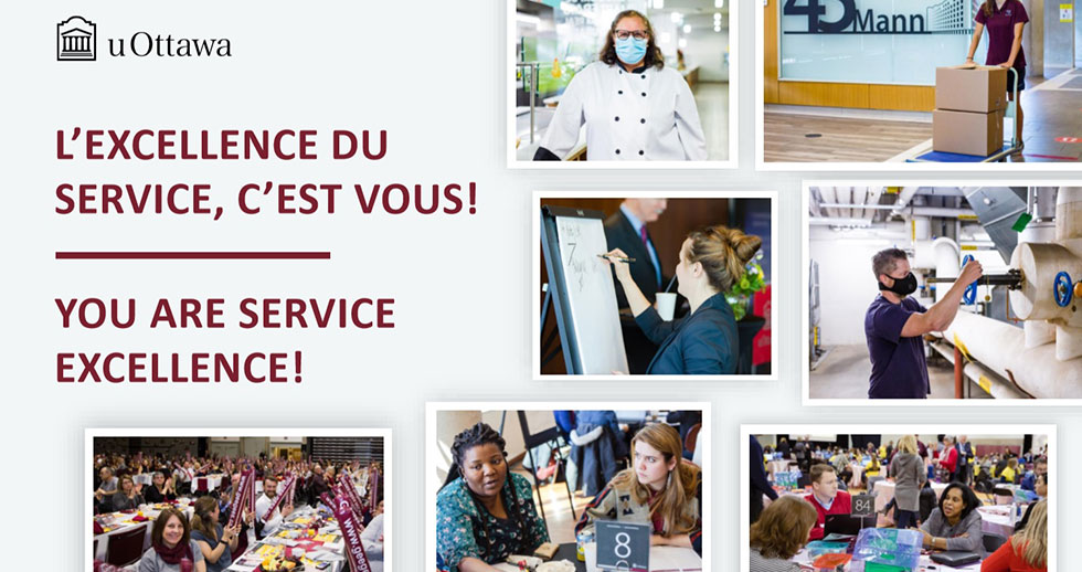 You are service excellence!