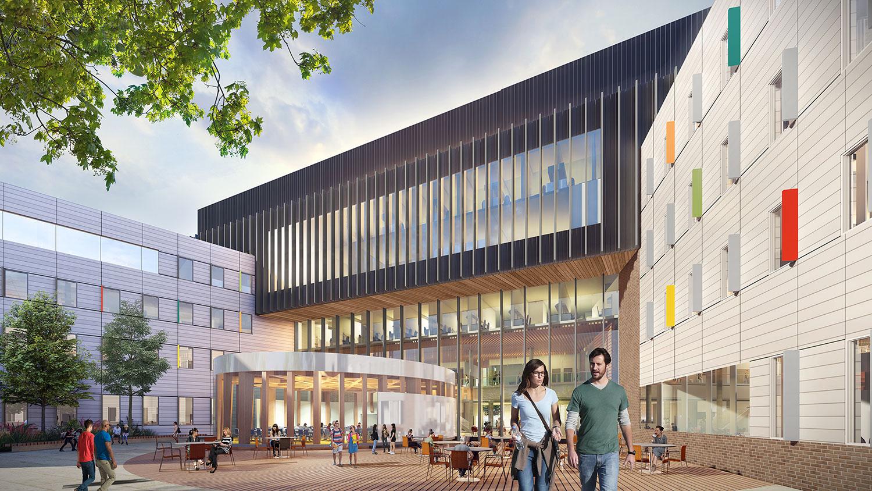 Lees Campus rendering