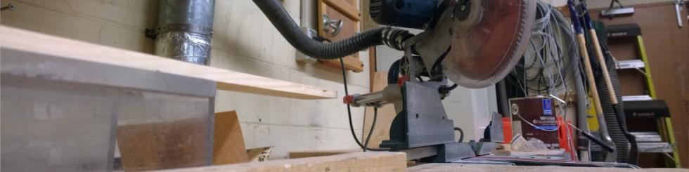 Une image de l'atelier des charpentiers.
