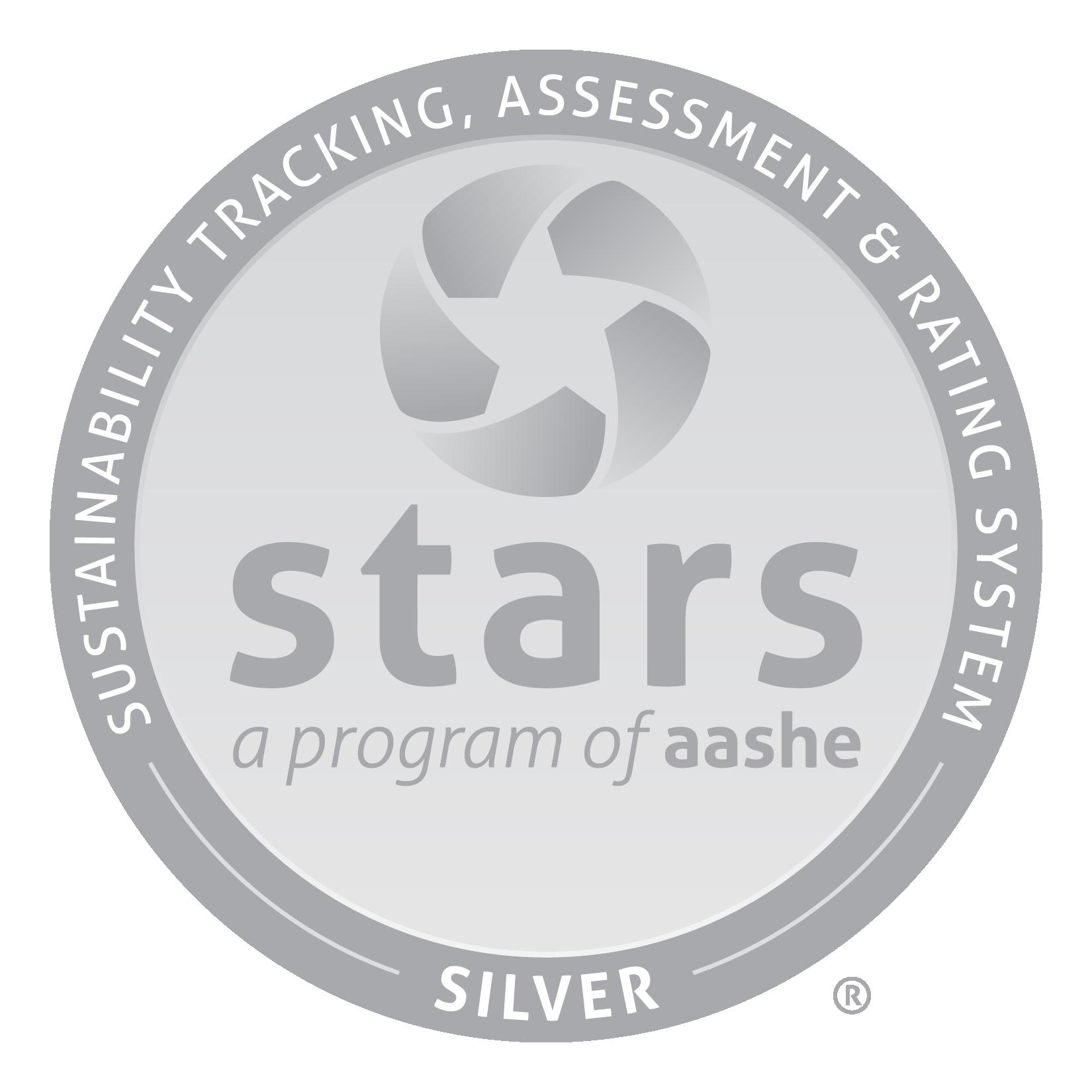 Un sceau gris avec le logo STARS