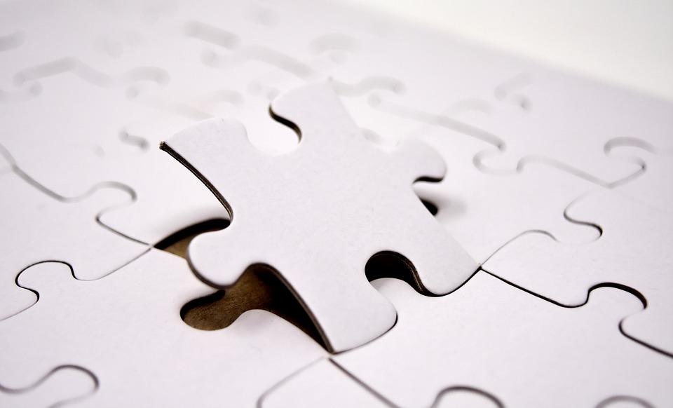 pièces d'un puzzle