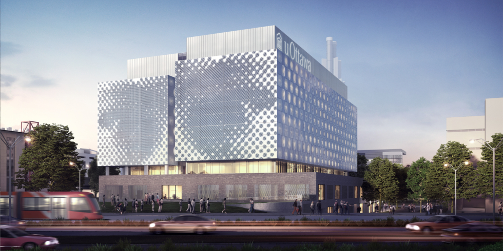 Rendering of the future STEM complex