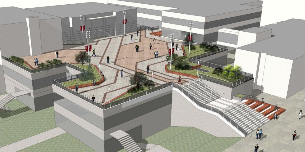 UCU Terrace rendering