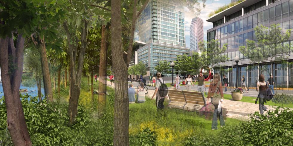 University Plaza rendering
