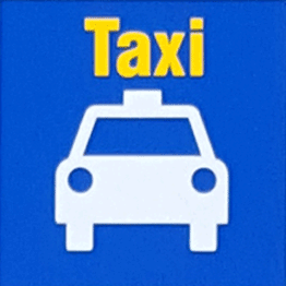 Logo of the taxi stands at uOttawa