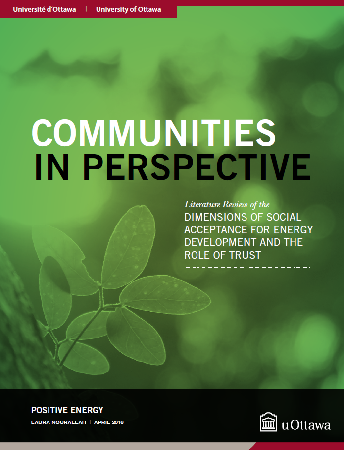 Communities Report Cover