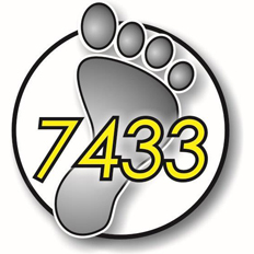 Foot Patrol Logo with 7433 extension number