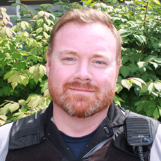 Photograph of instructor Ian Mainville