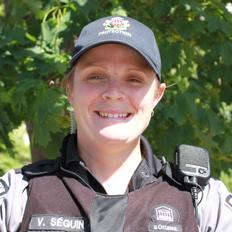 Portrait de l'instructeure Valérie Séguin