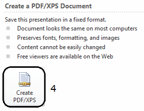 Convert the presentation to PDF (2)