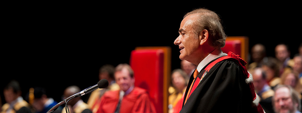 Calin Rovinescu, the 14th chancellor of the University of Ottawa