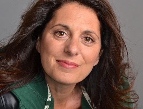 Erica Ehm, smiling.
