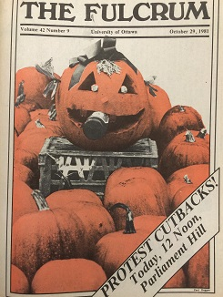 October 1981 edition of the Fulcrum