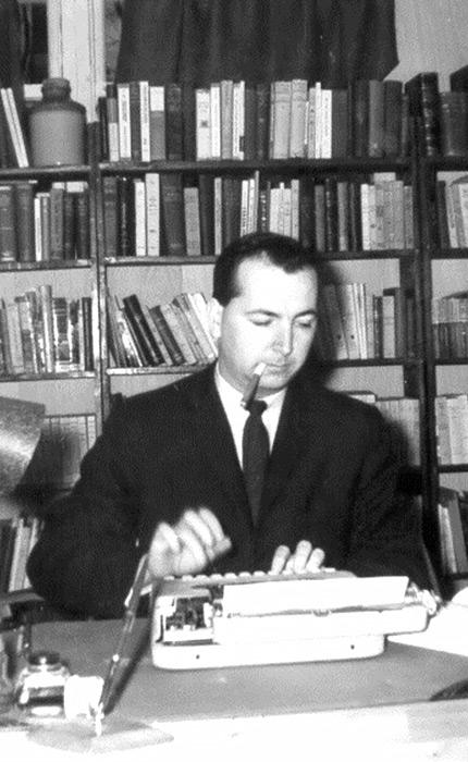 Marcel Hamelin à l'époque où il était professeur au Département d'histoire. | Marcel Hamelin when he was a professor in the Department of History in the 1960s
