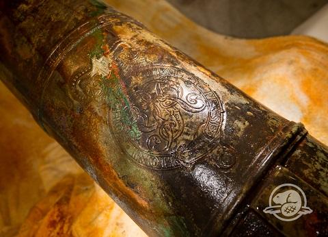 l'emblème du roi George III.