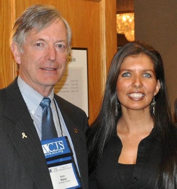 Irvin Waller and Lisa Monchalin