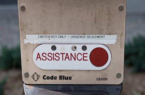 Téléphone d'urgence extérieur